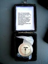 Ball Tipped Lens Clock Precision Optical Measuring Instrument Sadler NOS in Case