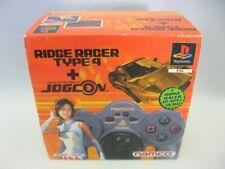 PlayStation 1 - Ridge Racer Type 4 + Jogcon Bundle (PAL) - PS1
