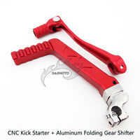 CNC Kick Start Starter Aluminum Gear Shifter Shift Lever For 50-125cc Dirt Bike
