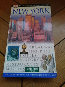 EYEWITNESS TRAVEL GUIDES New-York USA Guide Touristique