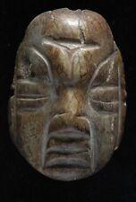 Pre Columbian, Mayan or Olmec Pendant, Talisman, Costa Rican, COA