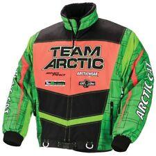 Arctic Cat Men's Sno Cross Shell Flex Series Jacket Coat Green & Orange