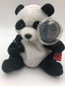 Panda China flag Coca Cola bottle Chinese letters Coke cap shape tag protector