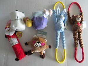 Zippy Paws Squeaky Plush Dog Toys Nwt
