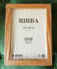 LOT DE 4 CADRES PHOTOS (13 CM X 18 CM ) IKEA EN BOIS CLAIR