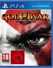 PS4 God of War III 3 Remastered 100% Uncut NEU&OVP Playstation 4 Paketversand