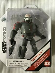 Star Wars Toybox Wrecker Figure,Disney Toybox Star Wars Figure Bad Batch Wrecker