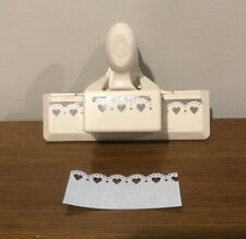 Hard To Find - Martha Stewart Doily Hearts Small Edge Paper Punch 💕