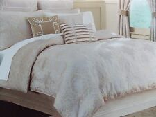 New Croscill Pearl Champagne Gold 5 Piece Queen Comforter Set