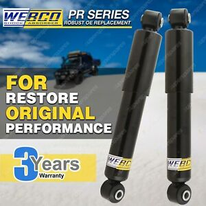 Pair Rear Webco Elite Shock Absorbers for HOLDEN COMBO XC Van 02-on