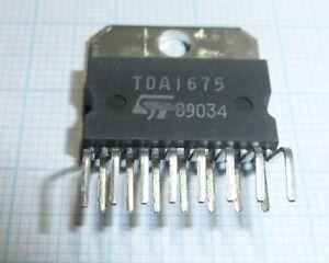 SGS TDA1675 SQIL15 Vertical Deflection
