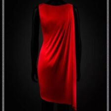 Versace For H&M Grecian Red Dress With Attached Cape