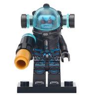 Mr Freeze - Marvel Comics Batman Themed Lego Moc Minifigure Gift For Kids