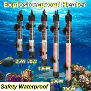 Aquarium Heater Submersible Auto Thermostat Heater Fish Tank Water Heat