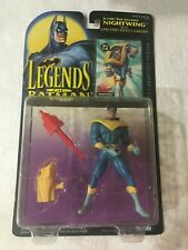 "LEGENDS OF BATMAN ""NIGHTWING"" WITH SUPER-STRIKE ROCKET LAUNCHER"