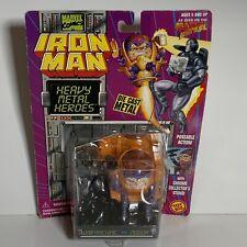 Toy Biz 1994 Iron Man Heavy Metal Heroes Steel Figures WAR MACHINE VS MODOK New