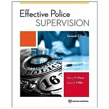 Effective Police Supervision by Harry W. More and Larry S. Miller (2014, Paperba