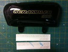 Triumph Scrambler 900 colore oro - adesivi/adhesives/stickers/decal