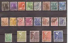 1947 Kontrollrat Mi. 943-962 gestempelt Einzelmarken zur Auswahl