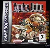 YGGDRA UNION  - GBA NUOVO SIGILLATO - GAMEBOY ADVANCE EAN 8023171011936