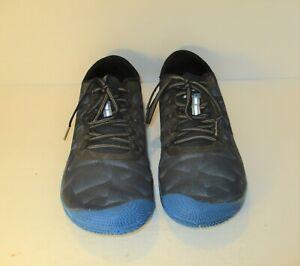 Merrell Size 10 M VAPOR GLOVE 3 Vibram Sole Blue Sneakers