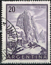Argentina Famous Mount Fitz Roy stamp 1950