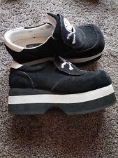 Demonia Creeper Platform Black Skull Women's Goth Rave Shoes Size 8