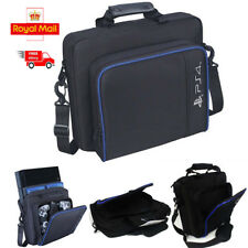 Black Travel Carry Case Handbag Carrying Bag for Playstation4 Console Accessorie