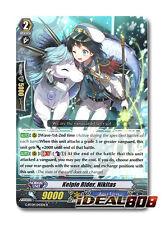 Cardfight Vanguard  x 4 Kelpie Rider, Nikitas - G-BT09/043EN - R Mint