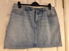 H&M Patternless A-line Short/Mini Skirts for Women