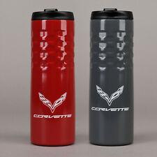 Corvette 2014-2019 C7 Stainless Steel Tumbler with Logo & Script 637714