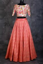 DESIGNER PARTY WEAR AMAZING LATEST UNSTITCHED LEHENGA CHOLI