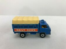 Vintage Tomica TOMY #87 88 Nissan Caball 1/68 DAILY NEWS Delivery Truck nr Mint