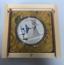 $30 Road Runner Looney Tunes RCM Coin Warner Bros ACME Crate .9999 Fine Silver