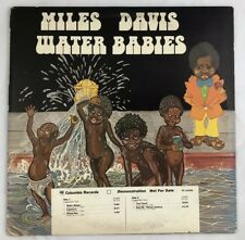Miles Davis Water Babies 1976 White Label Demo PC 34396 VG+ Tested