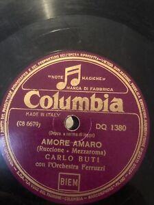 78 GIRI CARLO BUTI canta AMORE AMARO & VIOLINO TZIGANO