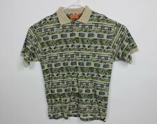 Jeep Polo Mens Large Polo Shirt Fly Fishing Jeep Outdoor Short Sleeve Cotton A27