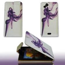 Handy Tasche Case Flip f. Sony Ericsson Xperia ARC / ARC S Handytasche flame