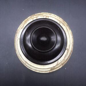 Agro Art Deco servant Bell Press Bakelite Reclaimed 6.5cm Reception door bell