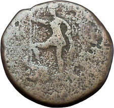 AUGUSTUS as OCTAVIAN Victory Battle of Actium Macedonia Pella Roman Coin i48160