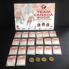 NHL Team Canada Official Pin Collection 2002