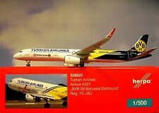 Herpa Wings 1:500 Airbus A321 TURCO Airlines BVB 09 528825 modellairport500