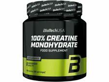 BIOTECH USA 100% Creatine Monohydrate pure micronized powder 300g *88 Servings*
