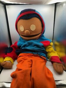 Vintage Official 1978 The Kids On The Block Ventriloquist Puppet Blind Kid Plush