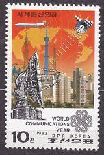 KOREA Pn. 1983 MNH** SC#2299 stamp, World Communications Year.