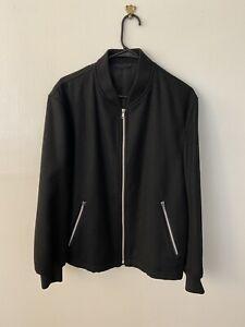 Comme Des Garcons Homme Plus Wool Bomber Jacket