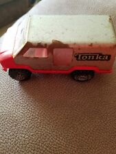1978 Old Vtg Antique Collectible Silver Colored TONKA Toy Van Made In USA