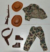 Tenue Outfit Safari etc vêtement BIG JIM Vintage Aventure Action Set MATTEL