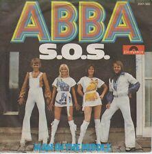 """Abba 7"""" vinyl single S.O.S. (SOS) 1975"""