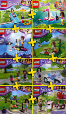 LEGO Friends - Lot / Pack 8 Sets Collector - RARE - Edition Limitée - 100% NEW